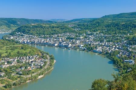 Boppard, Rheingau, Rhein, Deutschland Standard-Bild - 25760995