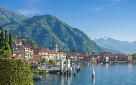 lake como: View of Menaggio,Lake Como,italian Lake District,Lombardy,Italy