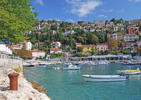 adriatic: Harbor of Rabac,Istria,adriatic Sea,Croatia