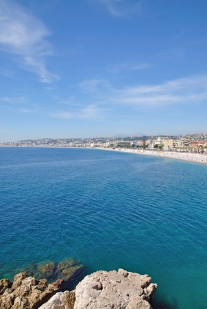 d���azur: Nizza at french Riviera,Cote d  Azur,South of France