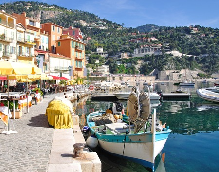 Villefranche sur Mer,french Riviera,Cote d Azur,South of France photo