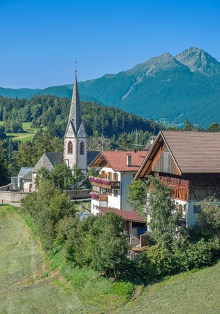 alto: Hafling near Merano,South Tyrol,Trentino,Alto Adige,Italy Stock Photo