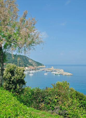 Marciana Marina on Elba Island,mediterranean Sea,Italy