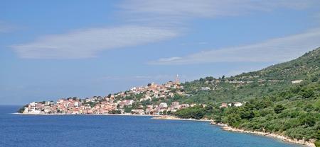 riviera: View of Igrane at Makarska Riviera, adriatic Sea, Dalmatia, Croatia