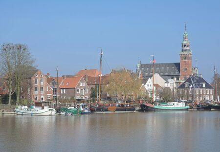 leer: Town of Leer,East Frisia,North Sea,Lower Saxony,Germany