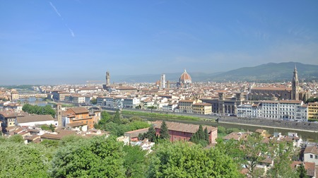 michelangelo: View from Piazzale Michelangelo,Florence,Tuscany,Italy