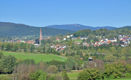 Village of Zwiesel,Bavarian Forest,Lower Bavaria,Germany