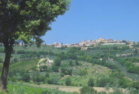 umbria: Montefalco,Umbria,Italy