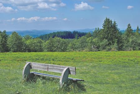 Kahlen Asten, Winterberg, Sauerland, Deutschland