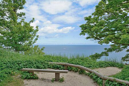 mecklenburg western pomerania: Ruegen island,Sellin,baltic Sea,Mecklenburg Western Pomerania,Germany Stock Photo