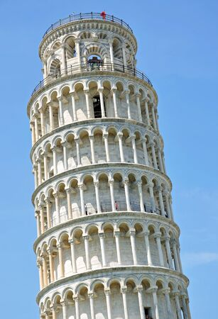 leaning tower of pisa: leaning Tower,Pisa,Tuscany,Italy
