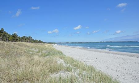 mecklenburg western pomerania: Beach,Juliusruh,Ruegen Island,baltic Sea,Germany Stock Photo