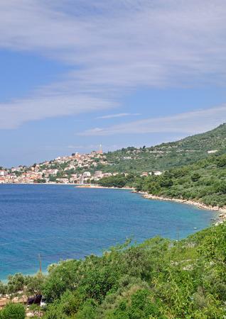dalmatia: Igrane,Makarska Riviera,adriatic Sea,Dalmatia,Croatia Stock Photo