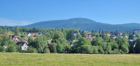 brocken: Village of Braunlage in Harz Mountain near Brocken,Germany