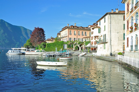 lake district: Village of Lenno at Lake Como in italian Lake District,Lombardy,Italy