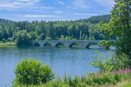 rhine westphalia: Verse Drinkwater Reservoir in Sauerland,North Rhine Westphalia,Germany