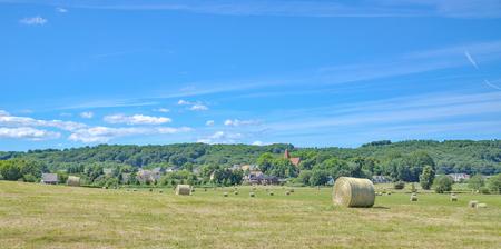 mecklenburg western pomerania: Village of Lancken-Granitz on Ruegen Island at baltic Sea,Germany Stock Photo