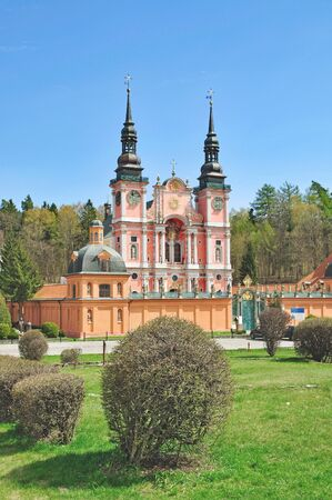 pilgrimage: famous Pilgrimage named Swieta Lipka in Masuria,Poland