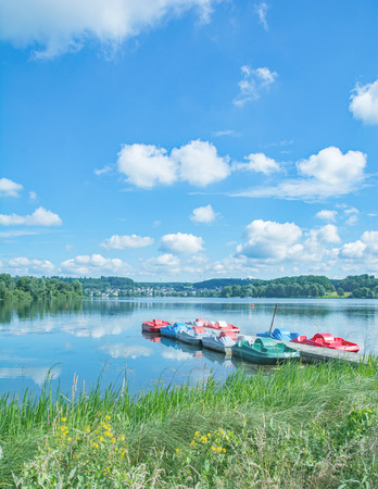 idyllic Place in Stahlhofen am Wiesensee, Westerwald, Rhineland-Palatinate, Germany