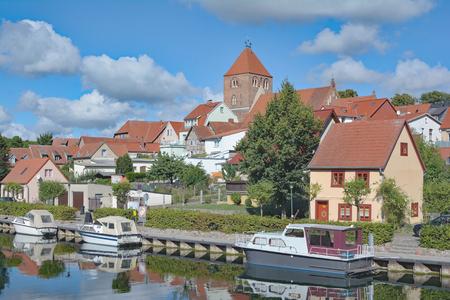 mecklenburg western pomerania: Village of Plau am See in Mecklenburg Lake District,Mecklenburg western Pomerania,Germany Stock Photo