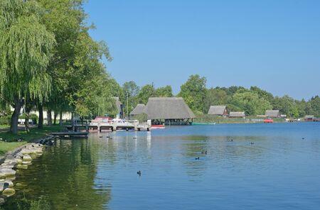 mecklenburg western pomerania: Krakow am See in Mecklenburg Lake District,Mecklenburg western Pomerania,Germany Stock Photo
