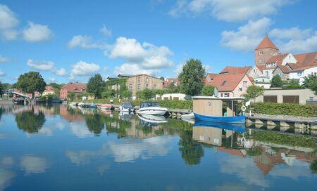 mecklenburg western pomerania: Plau am See in Mecklenburg Lake District,Mecklenburg western Pomerania,Germany Stock Photo