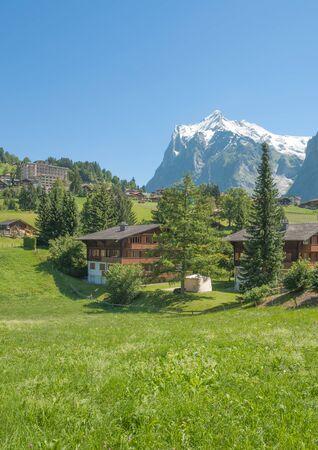 canton berne: Grindelwald in Bernese Oberland,Berne Canton,Switzerland