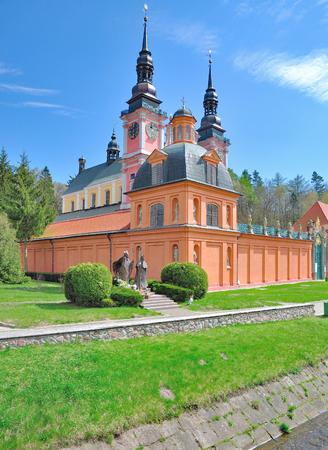 Church of Swieta Lipka or Heiligelinde,Masuria,Poland Stock Photo