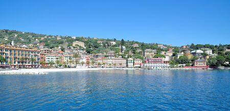 Promenade of Santa Margherita Ligure,italian Riviera,Liguria,Italy