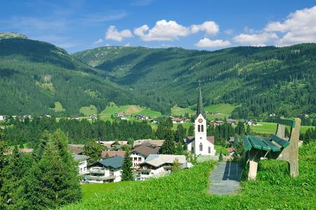 Urlaubsort Riezlern im Kleinwalsertal in Vorarlberg