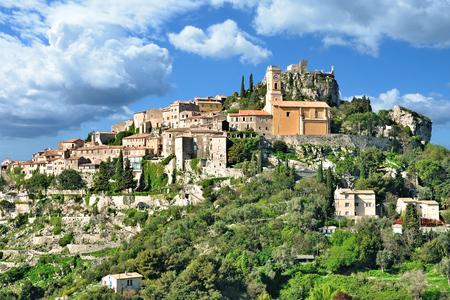Village médiéval d'Eze sur la Côte d'Azur près de Monaco, France