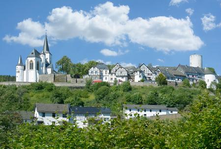 Village of Reifferscheid in Eifel,North Rhine westphalia,Germany