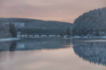 Oker Reservoir in Harz Mountain,lower saxony,Germany Standard-Bild - 111488310