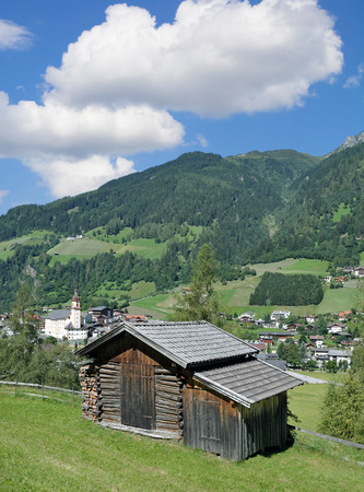 Village of Neustift im Stubaital,Tirol,Austria