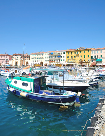 Portoferraio on Island of Elba,Tuscany,mediterranean Sea,Italy