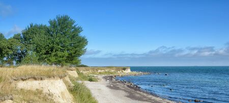 coastal Landscape at Staberhuk on Fehmarn,baltic Sea,Germany