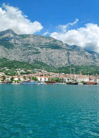 Makarska Town at adriatic Sea,Dalmatia,Croatia
