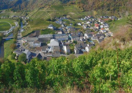 Wine Village of Mayschoss in Ahrtal,Rhineland-Palatinate,Germany