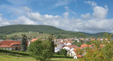 Wine Village of Sankt Martin in Palatinate,Germany