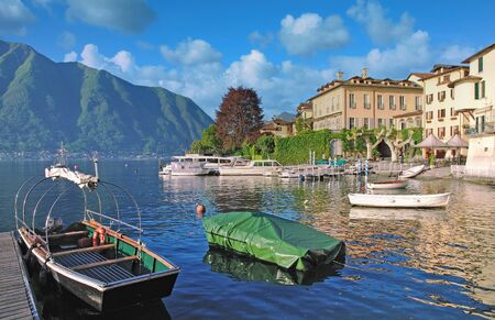 Village of Lenno at Lake Como,Lombardy,Italy