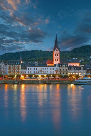 Wine Village of Boppard at Rhine River,Germany