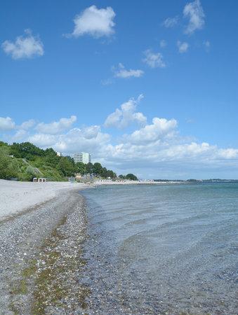 Sierksdorf at baltic Sea,Schleswig-Holstein;Germany Standard-Bild