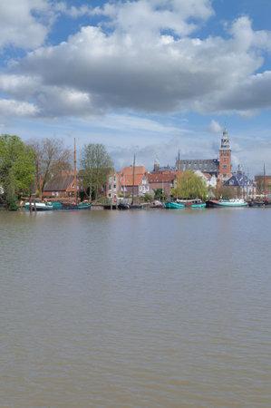 Town of Leer in East Frisia,lower Saxony,Germany Standard-Bild