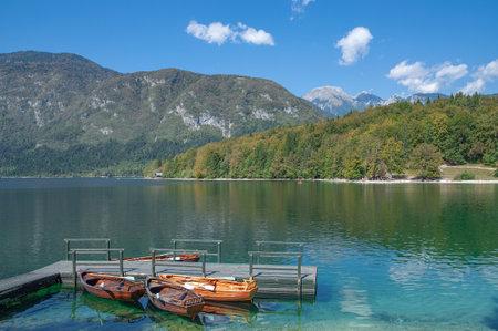 Lake Bohinj,Triglav national Park,Slovenia, Standard-Bild