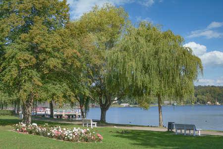 Krakow am See,Mecklenburg Lake District,Germany Standard-Bild