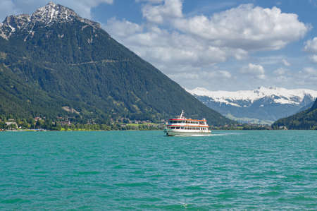 Tourist Boat at Lake Achensee,Tirol,Austria