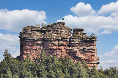 Asselstein Rock,Palatinate Forest,Palatinate,Germany