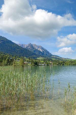 Lake Walchsee,Tirol,Austria