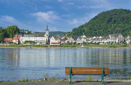 Village of Bad Breisig,Rhine River,Germany