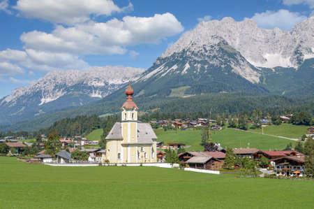 Going am Wilden Kaiser,Tirol,Austria Standard-Bild